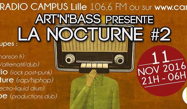 ARTNBASS LA NOCTURNE RADIO CAMPUS LILLE