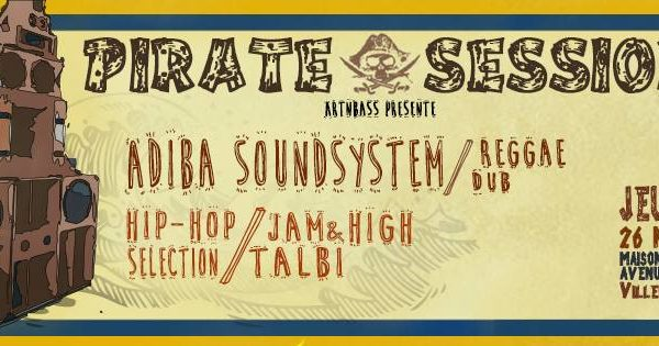 Pirate Session #4 Art'n_Bass