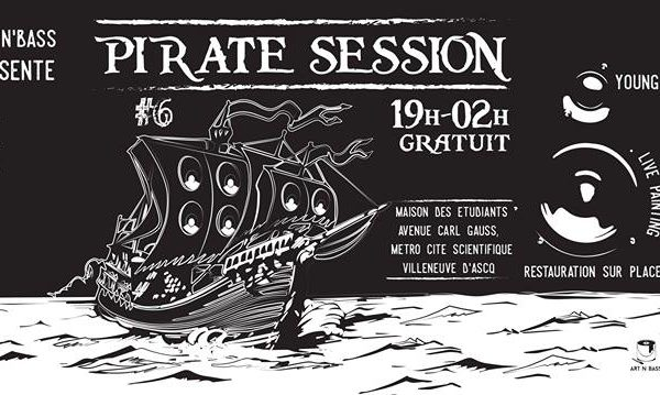 Pirate session 6 artnbass lille
