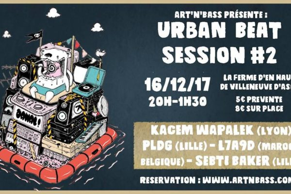 Urban beat session 2 artnbass
