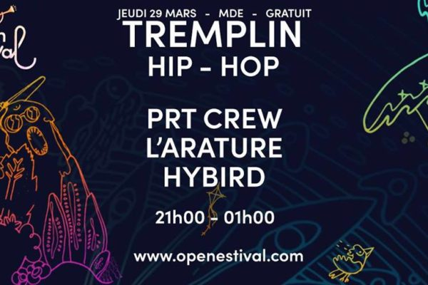 tremplin open estival 2018